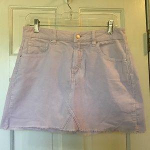 Pacsun pink corduroy mini skirt.  Size 28.